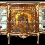 Louis XV Vernis Martin style Commode Cabinet