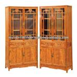 Africa Huanghuali Four Season Glass Cabinet