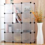 DIY fashion plastic drawer storage cabinets(12pcs)