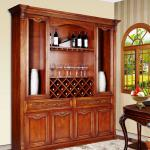 Solid Wood Wine Cabinet (AWC-001)