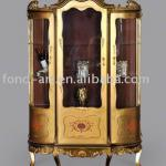 Antique furniture- decorative antique 3-door wine cabinet, furniture antique