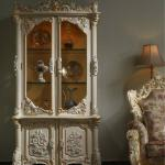 French Provincial Home furniture -solid wood cellaret/cabinet