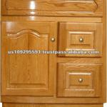 Natural Oak Wood Cabinet