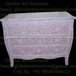 Pink MOP Inlay Chest