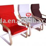Varnish wood of a variety of optional the cushion color recliners