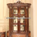 European royal style good quality 2-door wine cabinet