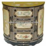 antique reproduction lacquer cabinet