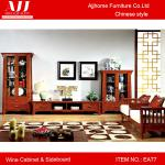 High quality Chinese antique living room sideboard and wine cabinet with two doors EA77