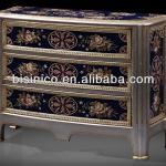 NEW ITEM-Antique Chest of Drawers/Gorgeous Hand Painting Sideboard Console Chest/Console Chest Table, Home Decorative Furniture