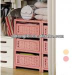 hand-woven paper rope storage cabinet/living room cabinet/Living room furniture
