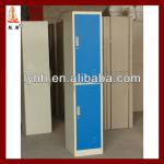 Hot selling new design 2 doors blue color bathroom cabinet use for hospital