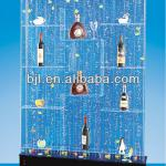 wine cabinet chinese restaurant decoration supply