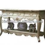 Bisini French Style,Solid Wood Console Table