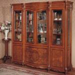 Wine cooler Classic wood wine cabinet Four