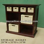 Exquisite wicker/willow basketkitchen cabinet basket wholesale