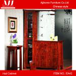 Chinese style living furniture wooden antique hall cabinet EA42