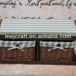 shabby chic style paulownia wooden cabinet wholesale