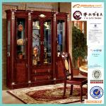 wholesale vitrine display curio cabinet
