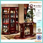 wood mdf furniture glass crystal cabinet