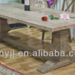 old wood dining table