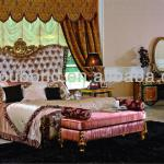 2013 E61 Italian classical bedroom furniture