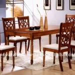 Dining Set, Home Furniture, Solid Wood Chairs