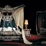 Binisi Elegant Royal Bed, Bedroom Furniture, 4 Post Luxury Bed