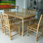 HOME FURNITURE BINH QUOI BAMBOO DINING SET