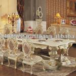 Mahogany Minerva Set Dining Table Classic Design Indoor Furniture