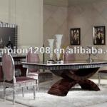 Luxuary classic dining room furniture