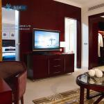 Hilton hotel furniture project (king room) 4 star branded hotel Ras Al Khaimah, UAE
