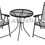 iron furniture/3 piece bistro set