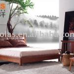 contemporary indoor bedroom furniture with italien leather bedroom set