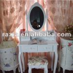 morden wooden Dressing Table with Stool (K008)-K008