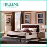 Beautiful High Glossy White Bedroom furniture Set-TRB-GR904