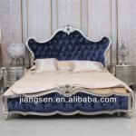 Hot Sale Fashion Solidwood Fabric Bed