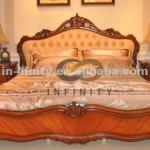 Latest- Classic Solid Wooden Bedroom Furniture Set