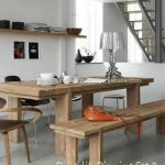 Teak Indoor Furniture Indonesia Dingklik Dining Set 01