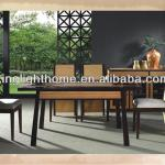 7pcs Bamboo Antique Dining Furniture Set