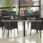 Fashion Synthetic Rattan Dining Room Sets,Dining Chair LG-S-252
