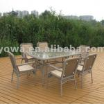 YHA083 RATTAN DINING FURNITURE