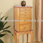 Lady Classic multipurpose Wooden Jewellery Cabinet of 5