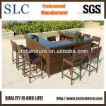 Top Popular Rattan Bar Furniture Set (SC-A7329-C)
