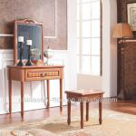 Antique solid wood furniture dressing table