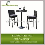 Rattan pvc outdoor antique bar furniture
