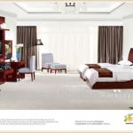 5 star/3star/4star Wooden Hotel room furniture in Alibaba-TY-1015