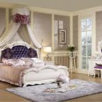 antique french style bedroom furniture sets 801-801