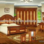 Classical new arrival fashion arabic bedroom sets-2038