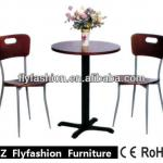Guangzhou Flyfashion Hot Sale restaurant furniture/cafe set/antique dining table OD-196