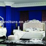 2012 Neoclassical wood carving bedroom furniture NC1206-bedroom